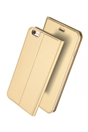 Dux Ducis Skin Pro Series Gold Plånboksfodral från Dux Ducis till iPhone 6S