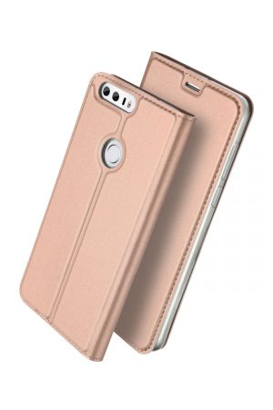Dux Ducis Skin Pro Series Rose Gold Plånboksfodral från Dux Ducis till Huawei Honor 8