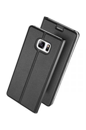 Dux Ducis Skin Pro Series Black Plånboksfodral från Dux Ducis till Galaxy S7 Edge