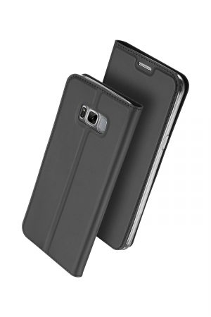 Dux Ducis Skin Pro Series Black Plånboksfodral från Dux Ducis till Galaxy S8 Plus