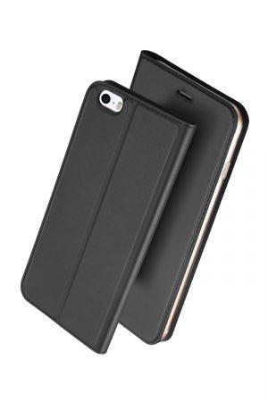 Dux Ducis Skin Pro Series Black Plånboksfodral från Dux Ducis till iPhone SE