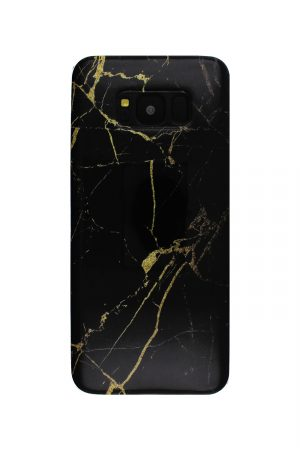 Black Gold Marble Soft Case Skal från Essentials till Galaxy S8