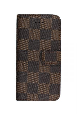 Checker Wallet Brown Plånboksfodral från Essentials till iPhone SE