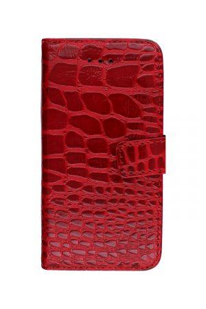Croco Wallet Red Plånboksfodral från Essentials till iPhone 5