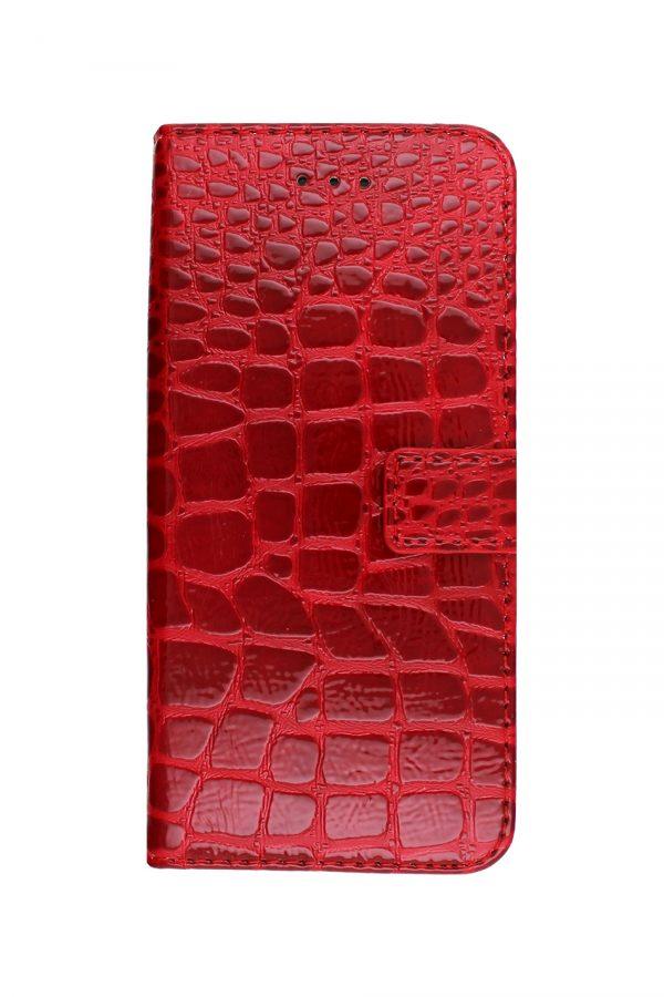 Croco Wallet Red Plånboksfodral från Essentials till iPhone SE