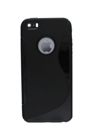Grip Soft Case Black Skal från Essentials till iPhone SE