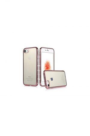 Nude Sparkle Soft Case Pink