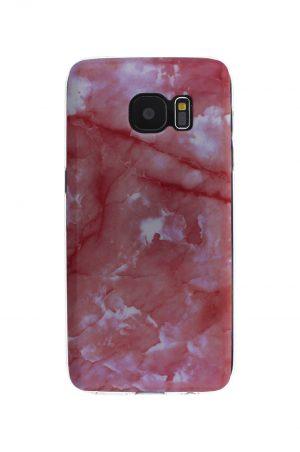 Pink Marble Soft Case Skal från Essentials till Galaxy S7