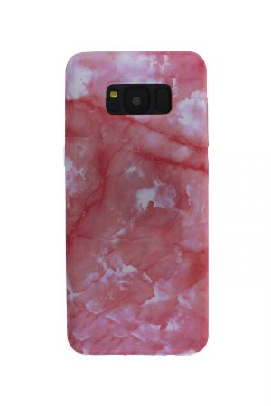 Pink Marble Soft Case Skal från Essentials till Galaxy S8