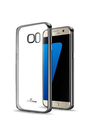 Platina Soft Case Mörkgrå Skal från Essentials till Galaxy S7 Edge