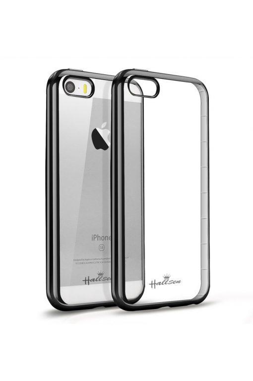 Platina Soft Case Mörkgrå Skal från Essentials till iPhone SE