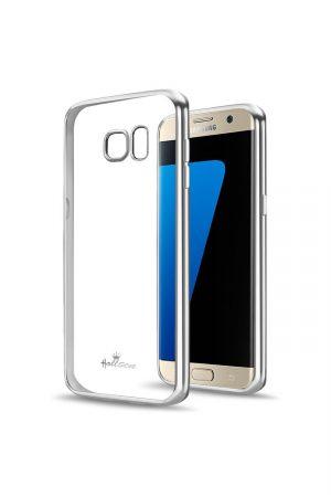 Platina Soft Case Silver Skal från Essentials till Galaxy S6