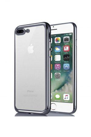 Platina Soft Case Black Skal från Essentials till iPhone 8 Plus