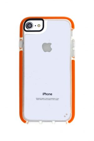 Mobello Ultra Rubber CTHRU Orange Skal från Mobello Ultra Rubber till iPhone 8