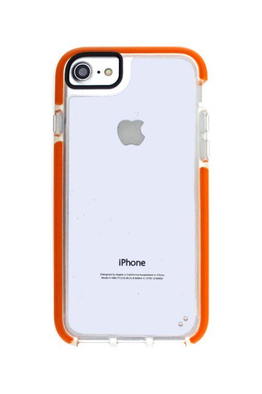 Mobello Ultra Rubber CTHRU Orange Skal från Mobello Ultra Rubber till iPhone 8