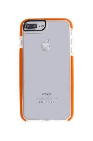 Mobello Ultra Rubber CTHRU Orange Skal från Mobello Ultra Rubber till iPhone 8 Plus