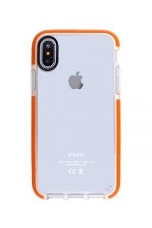 Mobello Ultra Rubber CTHRU Orange Skal från Mobello Ultra Rubber till iPhone XR