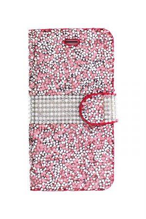 Sparkle Wallet Pink Plånboksfodral från Essentials till iPhone SE