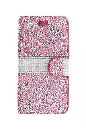 Sparkle Wallet Pink Plånboksfodral från Essentials till iPhone 6S Plus