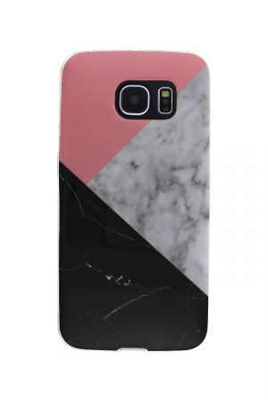 Triple Marble Soft Case Skal från Essentials till Galaxy S7 Edge