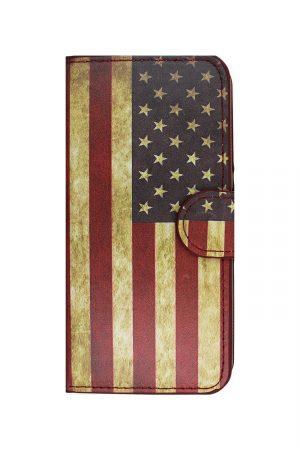 USA Retro Wallet Plånboksfodral från Essentials till iPhone 5
