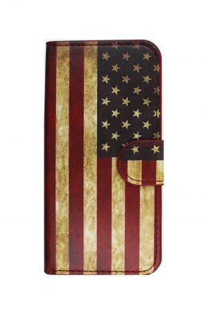 USA Retro Wallet Plånboksfodral från Essentials till iPhone 6S