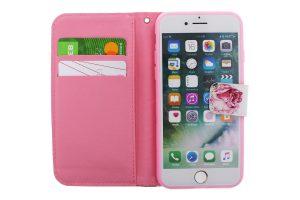 Floral Wallet Pink