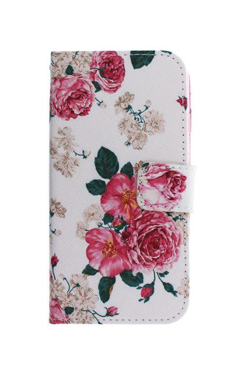 Floral Wallet Pink Plånboksfodral från Essentials till iPhone 8