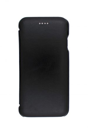iSuit Vintage Back id Genuine Leather Folio Cover Black från Essentials till Galaxy S8 Plus