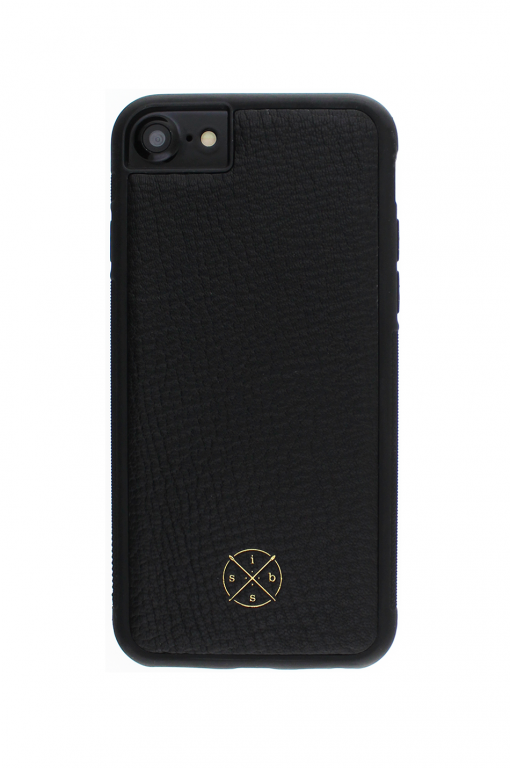 Mobello Leather Case Black Skal från Mobello Leather Case till iPhone 8