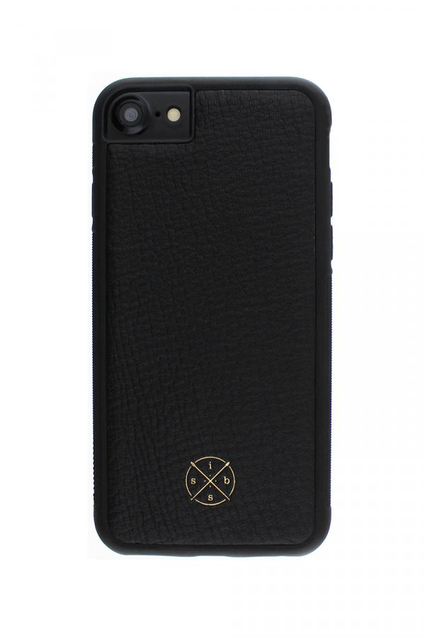 Mobello Leather Case Black Skal från Mobello Leather Case till iPhone 8