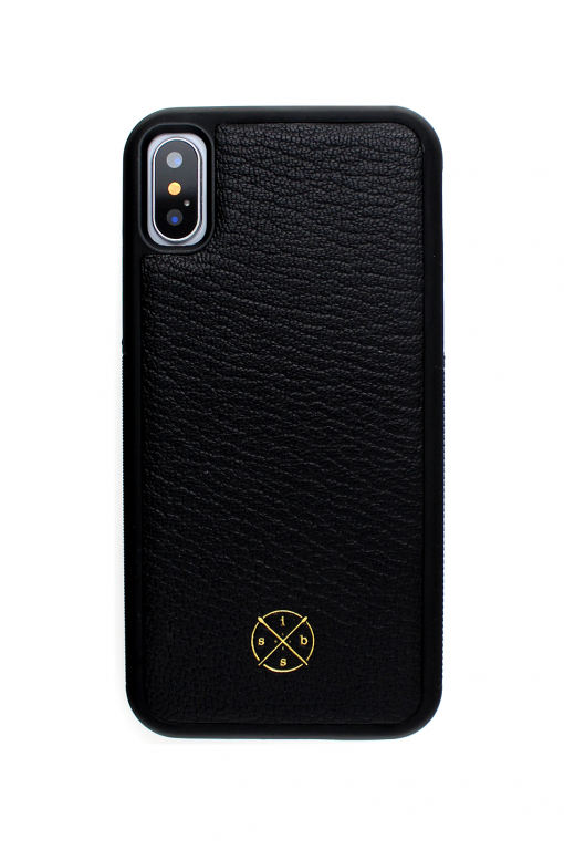 Mobello Leather Case Black Skal från Mobello Leather Case till iPhone XS