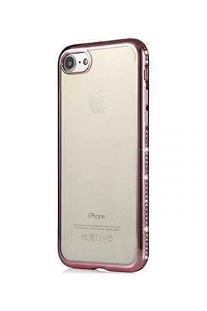 Nude Sparkle Soft Case Pink Skal från Essentials till iPhone 8