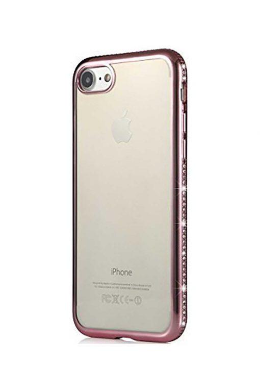 Nude Sparkle Soft Case Pink Skal från Essentials till iPhone 8