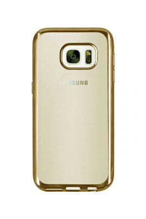 Platina Soft Case Gold Skal från Essentials till Galaxy S6