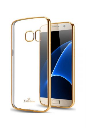 Platina Soft Case Gold Skal från Essentials till Galaxy S7