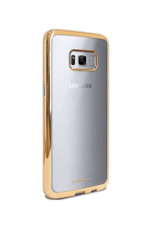 Platina Soft Case Gold Skal från Essentials till Galaxy S8
