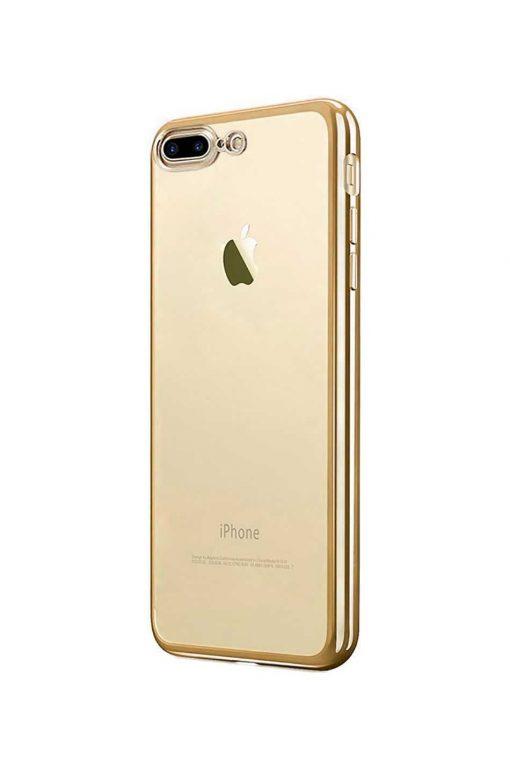 Platina Soft Case Gold Skal från Essentials till iPhone 8 Plus