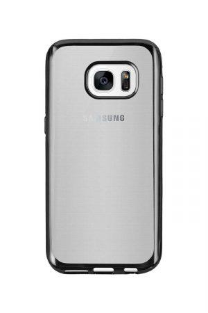 Platina Soft Case Mörkgrå Skal från Essentials till Galaxy S6