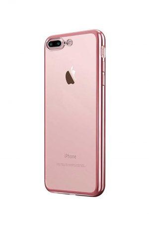 Platina Soft Case Rose Gold Skal från Essentials till iPhone 7 Plus