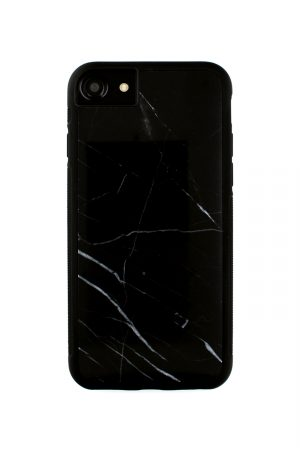 Mobello Genuine Black Marble Case Skal från Mobello Carbon Fiber till iPhone 8