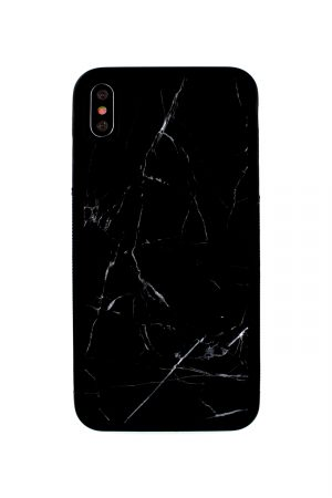 Mobello Genuine Black Marble Case Skal från Mobello Carbon Fiber till iPhone XS Max