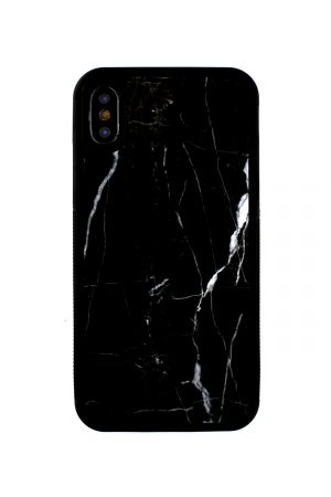 Mobello Genuine Black Marble Case Skal från Mobello Carbon Fiber till iPhone XS