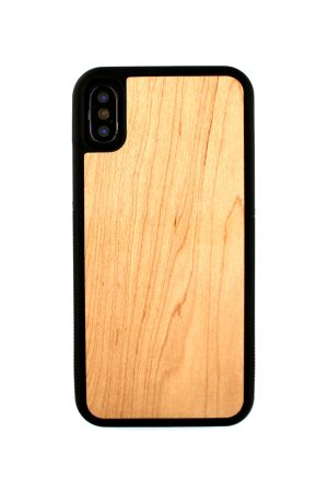Mobello Rubber Wood Skal från Mobello Rubber Wood till iPhone XS
