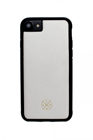 Mobello Leather Case Black White Skal från Mobello Leather Case till iPhone 6S