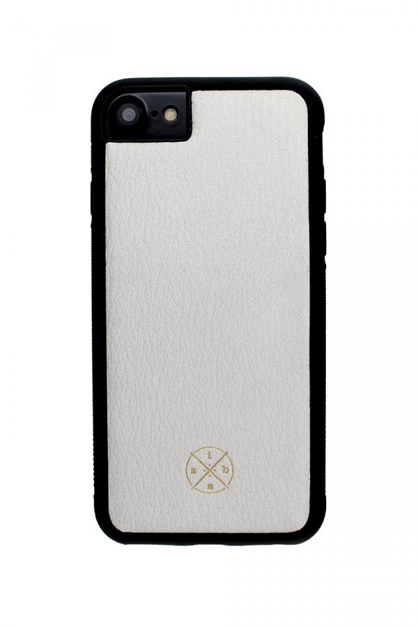 Mobello Leather Case Black White Skal från Mobello Leather Case till iPhone 6S