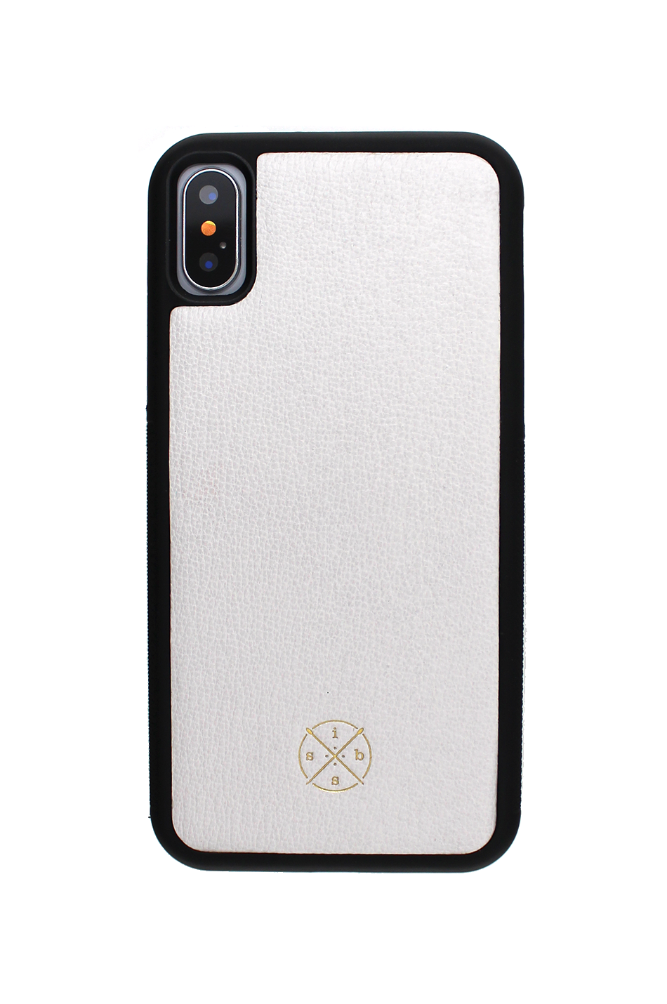 Mobello Leather Case Black White Skal från Mobello Leather Case till iPhone X