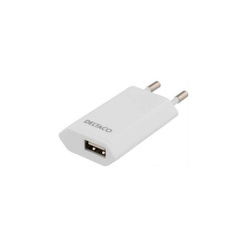 Deltaco USB-charger extra slim