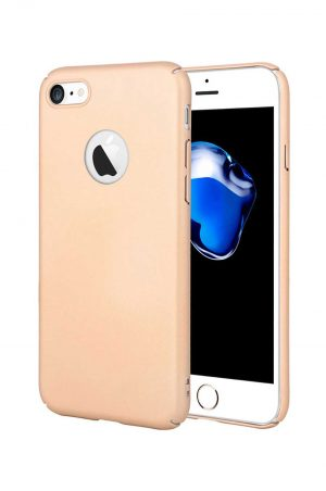 Hard Plate Case Gold Skal från Essentials till iPhone 8