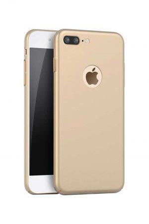 Hard Plate Case Gold Skal från Essentials till iPhone 8 Plus